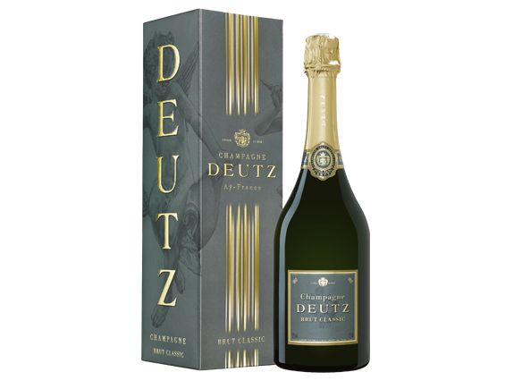 achat champagne deutz brut classic etui wineandco. Black Bedroom Furniture Sets. Home Design Ideas