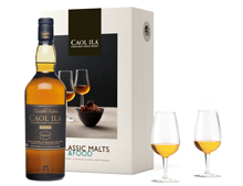 COFFRET MALTS AND FOOD WHISKY CAOL ILA DISTILLERS EDITION