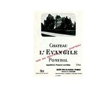 CHÂTEAU L'EVANGILE rouge 2002