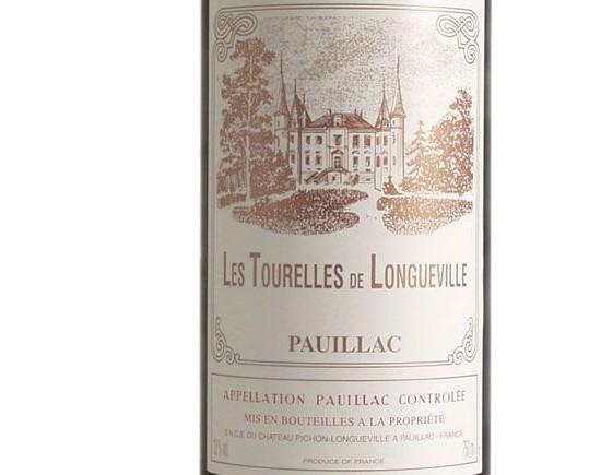 LES TOURELLES DE LONGUEVILLE rouge 2000, Second vin de Château Pichon de Longueville Baron