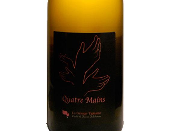 DOMAINE DE LA GRANGE TIPHAINE QUATRE MAINS TOURAINE BLANC 2015