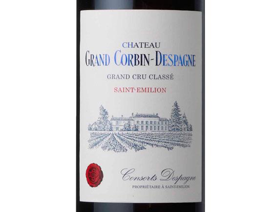 CHÂTEAU GRAND CORBIN-DESPAGNE 2015