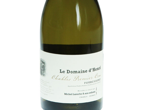 DOMAINE D'HENRI  CHABLIS 1ER CRU FOURCHAUME 2012
