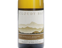 CLOUDY BAY LATE HARVEST RIESLING 2009 Demi Bouteille