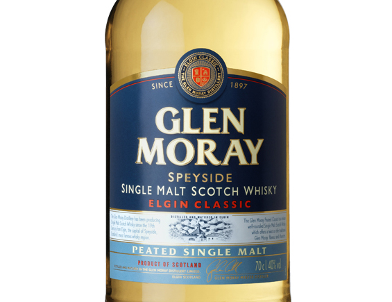 WHISKY GLEN MORAY PEATED