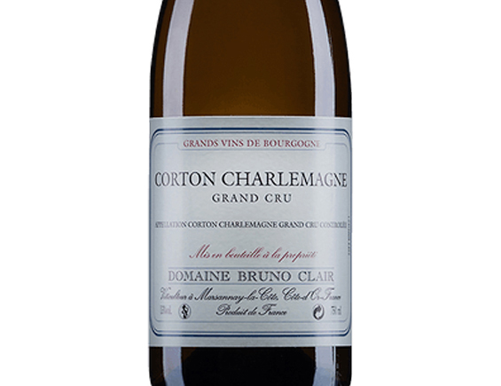 DOMAINE BRUNO CLAIR CORTON-CHARLEMAGNE GRAND CRU 2015