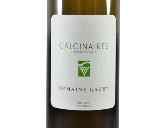 DOMAINE GAUBY LES CALCINAIRES BLANC 2016