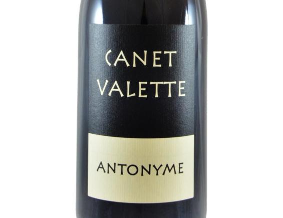 DOMAINE CANET VALETTE ANTONYME ROUGE 2017
