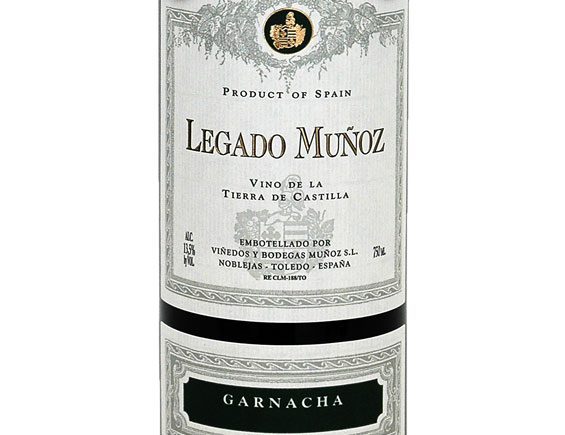 LEGADO MUNOZ GARNACHA 2017