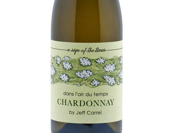 DANS L'AIR DU TEMPS BY JEFF CARREL CHARDONNAY BLANC 2017