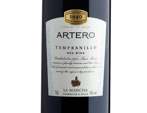 ARTERO TEMPRANILLO 2018