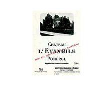 CHÂTEAU L'EVANGILE rouge 1999