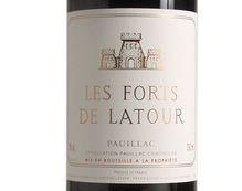 LES FORTS DE LATOUR 1990, Second vin du Château Latour