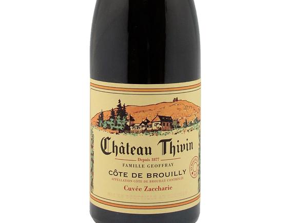 CHÂTEAU THIVIN COTE-DE-BROUILLY CUVÉE ZACCHARIE 2019