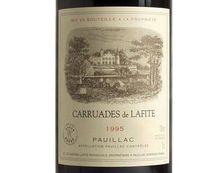CARRUADES DE LAFITE rouge 1995, Second Vin du Château Lafite-Rothschild