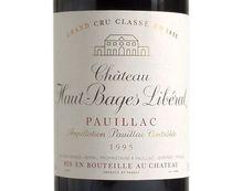 CHÂTEAU HAUT-BAGES LIBERAL 1995