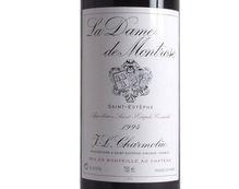 LA DAME DE MONTROSE rouge 1994, Second vin du Château Montrose