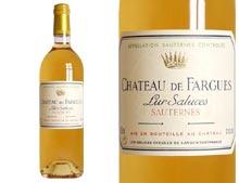 CHÂTEAU DE FARGUES 2011 Primeur Blanc