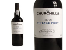 CHURCHILL'S VINTAGE PORT 1985