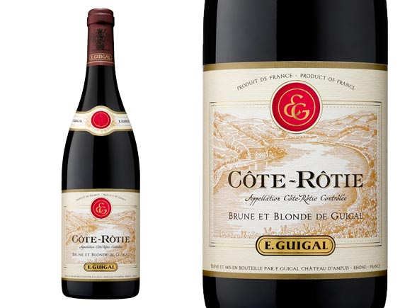 GUIGAL C�TE-R�TIE BRUNE ET BLONDE 2009 Rouge