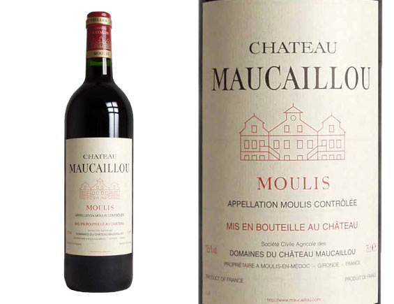 CH�TEAU MAUCAILLOU 2012 Rouge