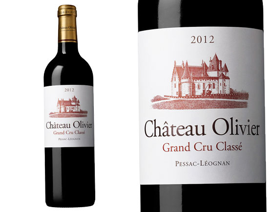 CHÂTEAU OLIVIER ROUGE 2012