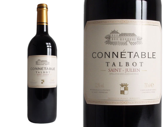 CONNETABLE TALBOT 2012 Rouge