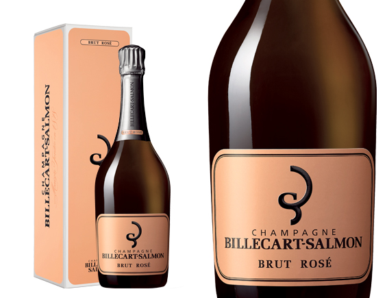 CHAMPAGNE BILLECART-SALMON BRUT ROS� COFFRET