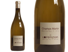 DOMAINE BRUNO LORENZON MERCUREY 1ER CRU CHAMPS MARTIN BLANC 2012