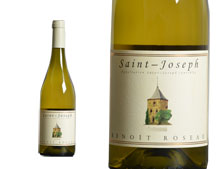 DOMAINE BENOIT ROSEAU SAINT-JOSEPH BLANC 2012