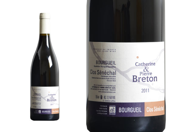 achat domaine breton clos s n chal 2011 bourgueil wineandco. Black Bedroom Furniture Sets. Home Design Ideas