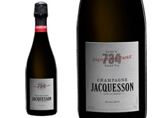 CHAMPAGNE JACQUESSON CUVEE N°734 DÉGORGEMENT TARDIF
