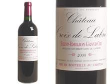CHÂTEAU CROIX DE LABRIE 2000