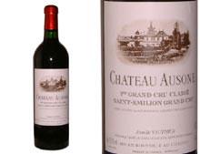 CHÂTEAU AUSONE rouge 2000, Premier Grand Cru Classé A