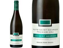 DOMAINE HENRI GOUGES NUITS ST GEORGES 1ER CRU LES SAINT GEORGES 2014