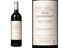 MAS CHAMPART SAINT-CHINIAN CLOS DE LA SIMONETTE ROUGE 2013
