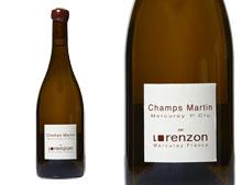 DOMAINE LORENZON MERCUREY 1ER CRU CHAMPS MARTIN BLANC 2014