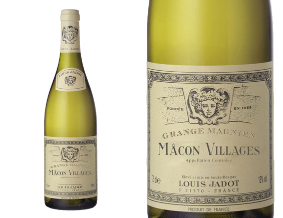 LOUIS JADOT MÂCON VILLAGES DOMAINE GRANGE MAGNIEN BLANC 2015