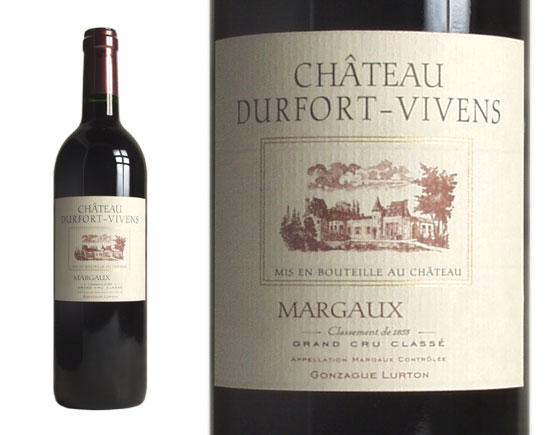 CHÂTEAU DURFORT-VIVENS rouge 2001