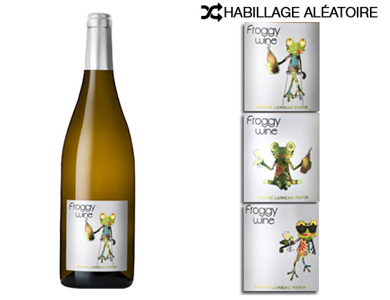 DOMAINE PIERRE LUNEAU-PAPIN FROGGY WINE BLANC 2015