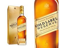 WHISKY JOHNNIE WALKER GOLD LABEL RESERVE ETUI