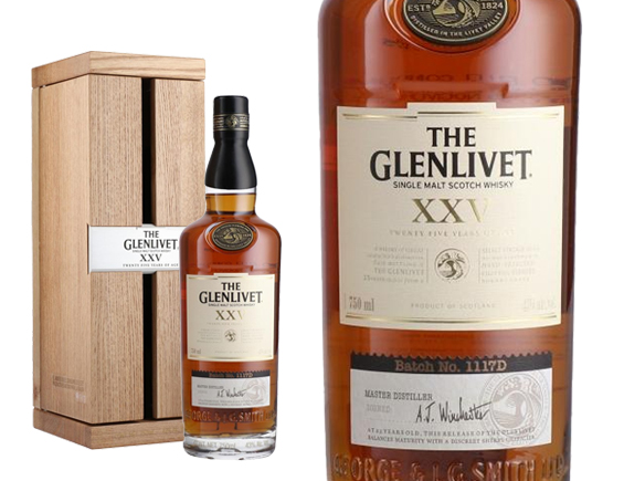 achat whisky the glenlivet 25 ans wineandco. Black Bedroom Furniture Sets. Home Design Ideas