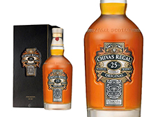WHISKY CHIVAS REGAL 25 ANS COFFRET