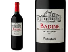 BADINE DE LA PATACHE POMEROL 2015