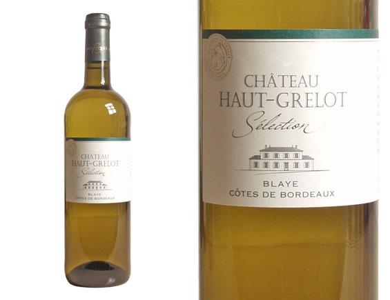CHÂTEAU HAUT-GRELOT SÉLECTION BLANC 2016