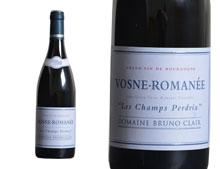 DOMAINE BRUNO CLAIR VOSNE-ROMANÉE LES CHAMPS PERDRIX ROUGE 2015