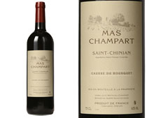 MAS CHAMPART SAINT-CHINIAN CAUSSE DU BOUSQUET ROUGE 2014
