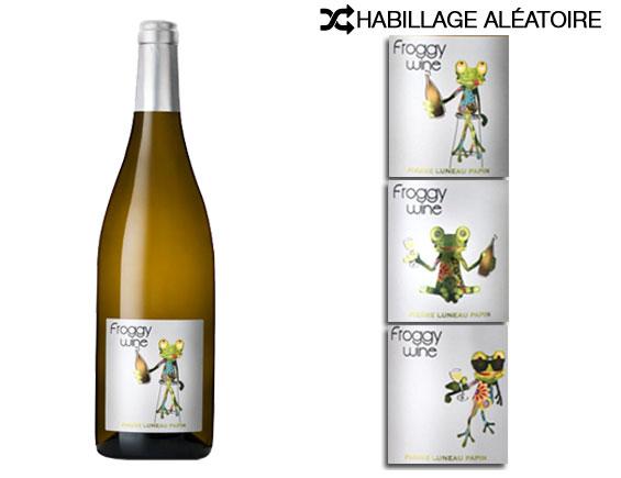 DOMAINE PIERRE LUNEAU-PAPIN FROGGY WINE BLANC 2016
