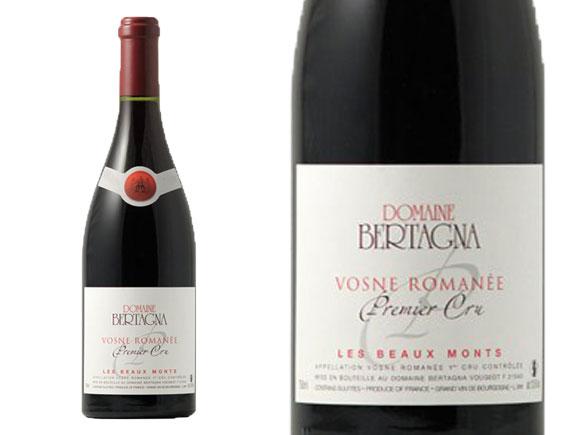 DOMAINE BERTAGNA VOSNE-ROMANÉE 1ER CRU LES BEAUX MONTS 2016