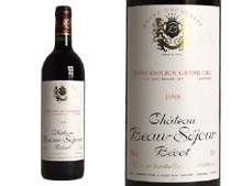 CH�TEAU BEAUSEJOUR BECOT rouge 1999, Premier Grand Cru Class� - caisse 12 x 0.750 L
